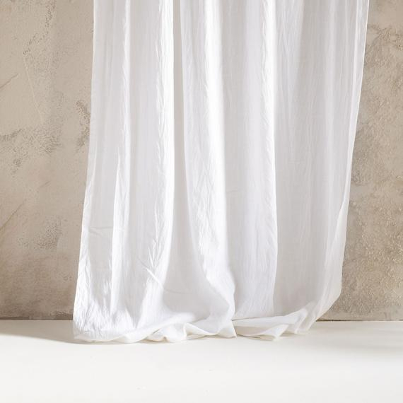 Natural Linen Curtains, Rod Pocket Curtains, Unlined Or Blackout Curtains,  Lined Linen Drapes, Custom Window Curtains, Linen Window Curtains Inside Rod Pocket Cotton Linen Blend Solid Color Flax Kitchen Curtains (View 22 of 30)