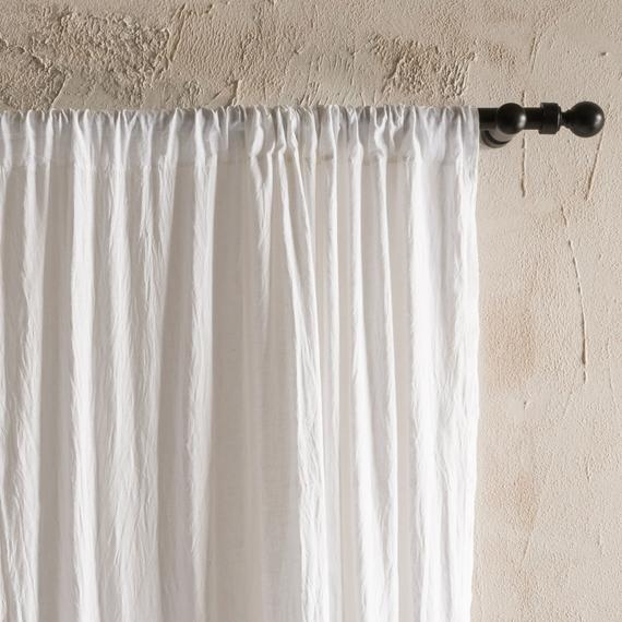 Natural Linen Curtains, Rod Pocket Curtains, Unlined Or Blackout Curtains,  Lined Linen Drapes, Custom Window Curtains, Linen Window Curtains With Regard To Rod Pocket Cotton Linen Blend Solid Color Flax Kitchen Curtains (View 25 of 30)