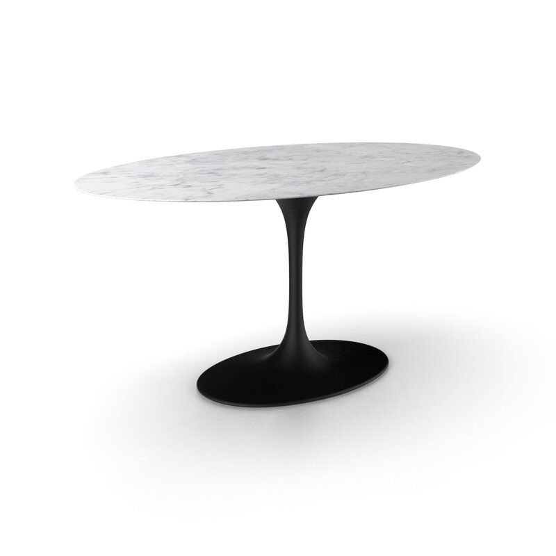 Neuman In Best And Newest Chapman Marble Oval Dining Tables (View 6 of 30)
