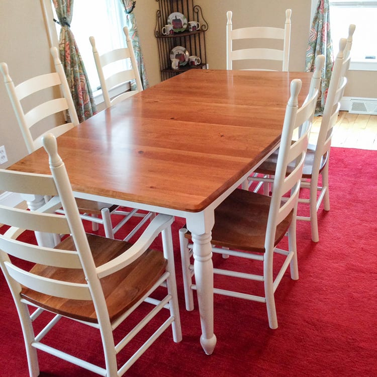 Newest Herran Dining Tables Within Custom Options – Herron's Amish Furniture (#14 of 20)