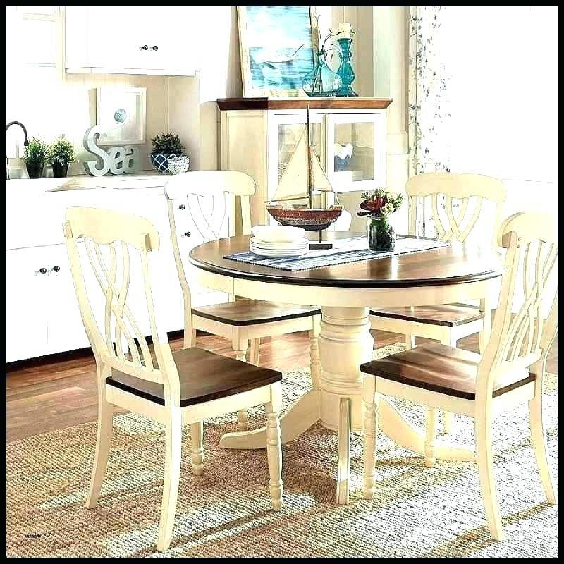 Newest Modern Farmhouse Dining Table Set Shabby Chic Kitchen Sets Regarding Modern Farmhouse Extending Dining Tables (#25 of 30)