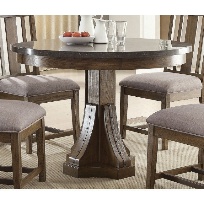 Nolan Round Pedestal Dining Tables Throughout Recent Willowbrook Round Dining Table (#17 of 30)