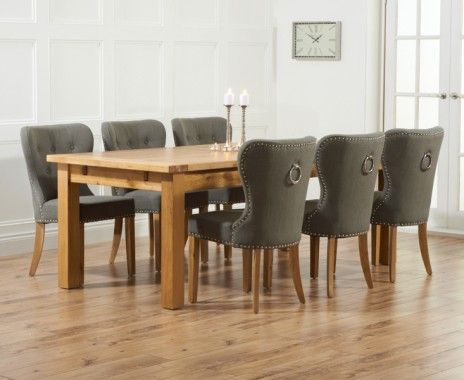 Normandy 220cm Solid Oak Extending Dining Table With Inside Widely Used Normandy Extending Dining Tables (View 2 of 30)