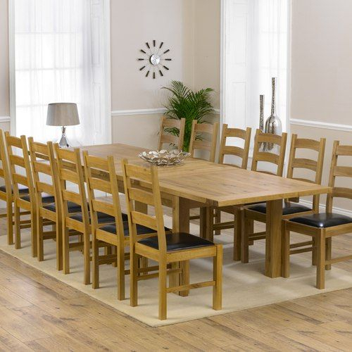 Normandy 220Cm Solid Oak Extending Dining Table With Vermont Inside Newest Normandy Extending Dining Tables (#16 of 30)