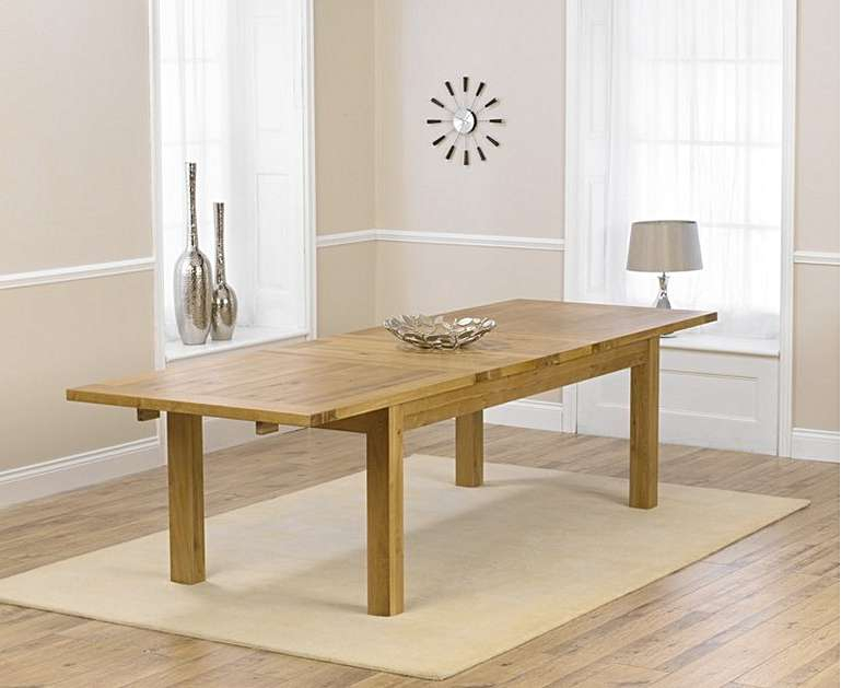 Normandy Extending Dining Tables Inside Best And Newest Normandy 220Cm Oak Extending Dining Table (#22 of 30)