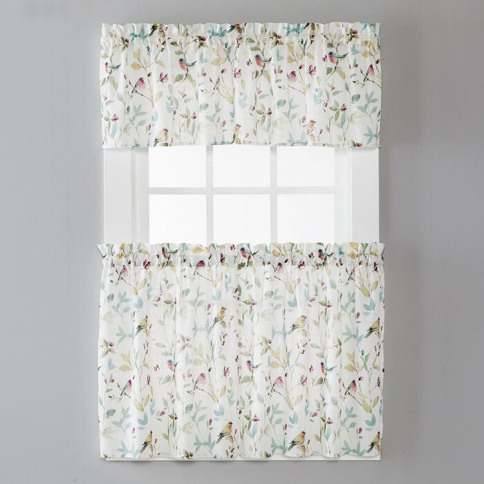 "Norwich Tier 54"" Window Valance Within Light Filtering Kitchen Tiers (View 36 of 50)"