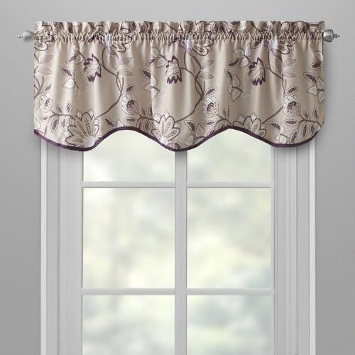 One Of My Favorite Discoveries At Christmastreeshops With Floral Pattern Window Valances (View 30 of 50)