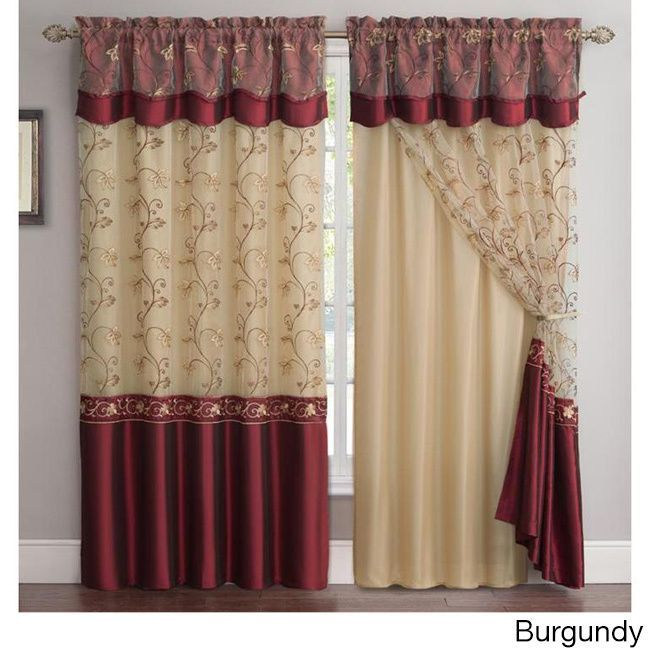 Online Shopping – Bedding, Furniture, Electronics, Jewelry In Burgundy Cotton Blend Classic Checkered Decorative Window Curtains (View 24 of 30)