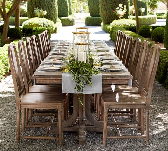 Parkmore Reclaimed Wood Extending Dining Tables Inside Well Known 15 Best Pottery Barn Dining Tables On Sale! (#22 of 30)