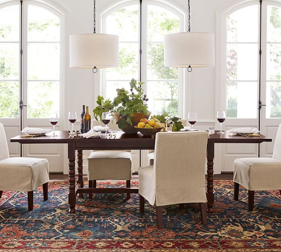 Parkmore Reclaimed Wood Extending Dining Tables Regarding Fashionable 15 Best Pottery Barn Dining Tables On Sale! (#23 of 30)