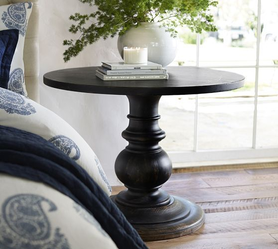 Pedestal Side Table, Table, Diy Table (#14 of 20)