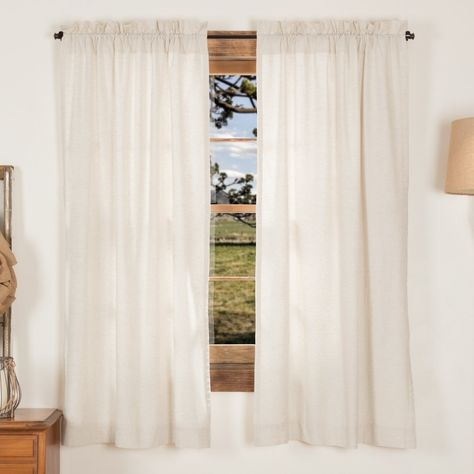 Petite Vhc Farmhouse French Country Curtains Simple Life In Simple Life Flax Tier Pairs (View 8 of 30)