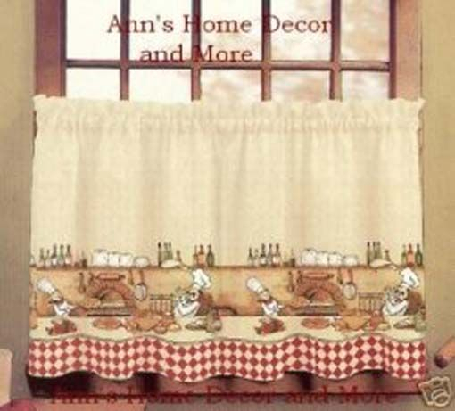 Pin On Kitchen For Embroidered Chef Black 5 Piece Kitchen Curtain Sets (View 28 of 42)