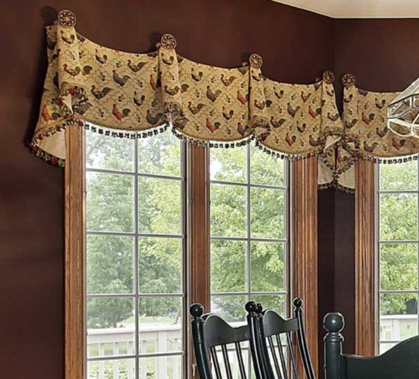 Pin On Window Coverings, Drapes, Etc Pertaining To Medallion Window Curtain Valances (View 4 of 48)