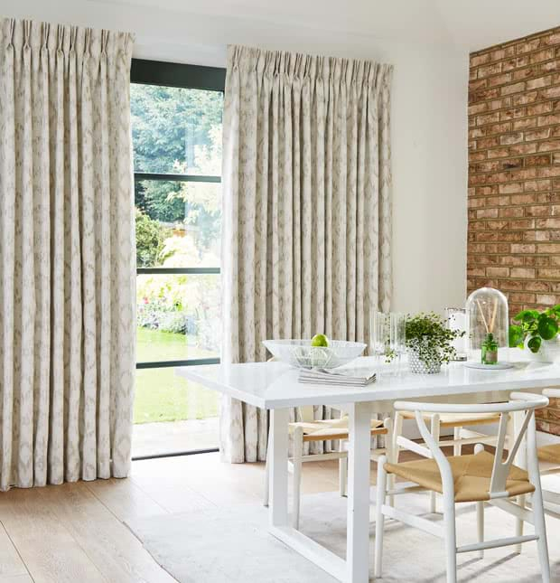 Pinch Pleat Curtains | Christmas Sale! | Thomas Sanderson™ Within Pleated Curtain Tiers (View 42 of 50)