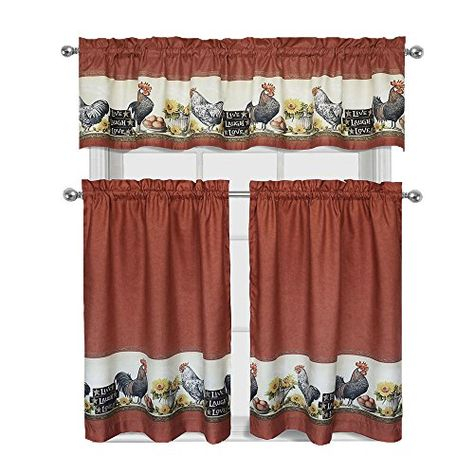 Pinlisa King On Furniture I Like | Kitchen Curtains Regarding Barnyard Window Curtain Tier Pair And Valance Sets (View 38 of 50)