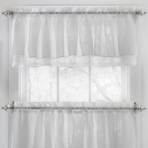 Pinterest – Пинтерест Inside Elegant Crushed Voile Ruffle Window Curtain Pieces (View 37 of 45)