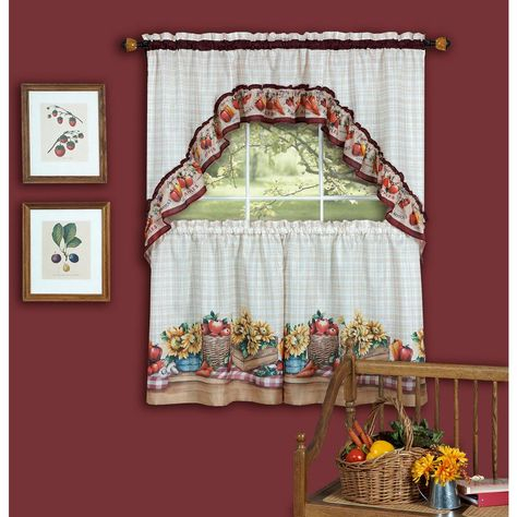Pinterest – Пинтерест Within Cotton Blend Ivy Floral Tier Curtain And Swag Sets (View 28 of 30)