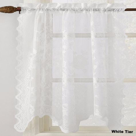Pinterest – India Regarding French Vanilla Country Style Curtain Parts With White Daisy Lace Accent (View 29 of 50)