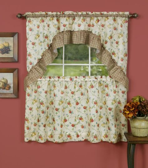 Pinterest With Classic Kitchen Curtain Sets (View 38 of 50)