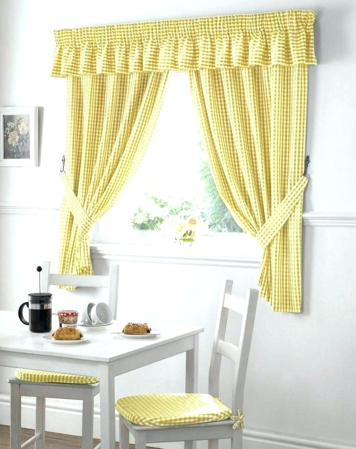 Plaid Kitchen Curtain – Carca With Cotton Blend Grey Kitchen Curtain Tiers (View 40 of 47)