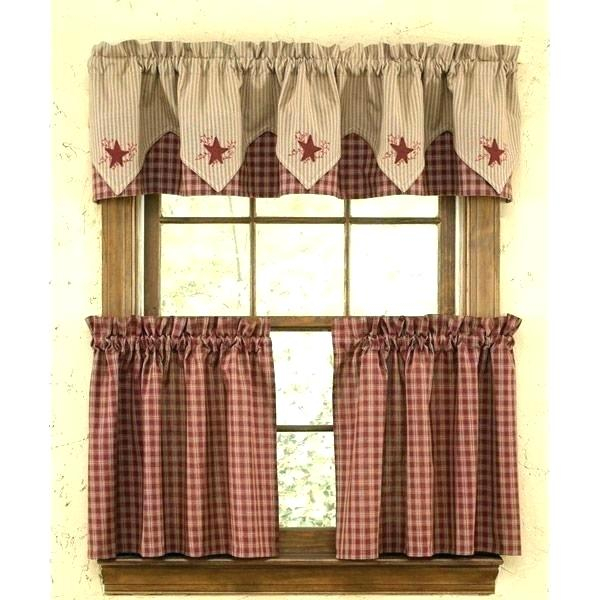Plaid Valance Curtains – Adrive (View 14 of 30)