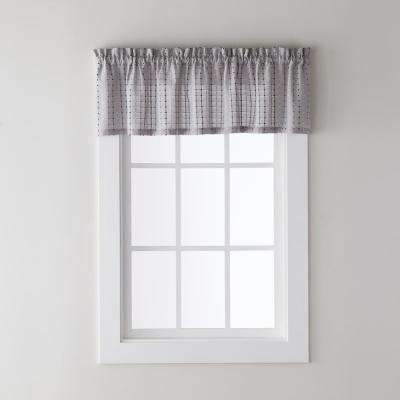 Polyester Blend – Rod Pocket – Curtains & Drapes – Window Throughout Grandin Curtain Valances In Black (View 18 of 30)