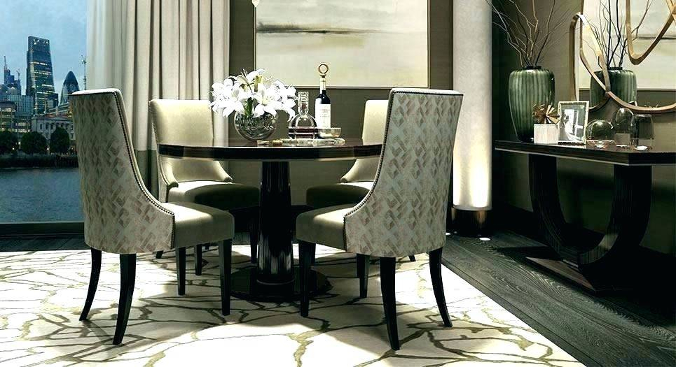 Popular Dining Room : Exciting Fancy Dining Room Chairs Appealing Inside Chapman Round Marble Dining Tables (#20 of 30)