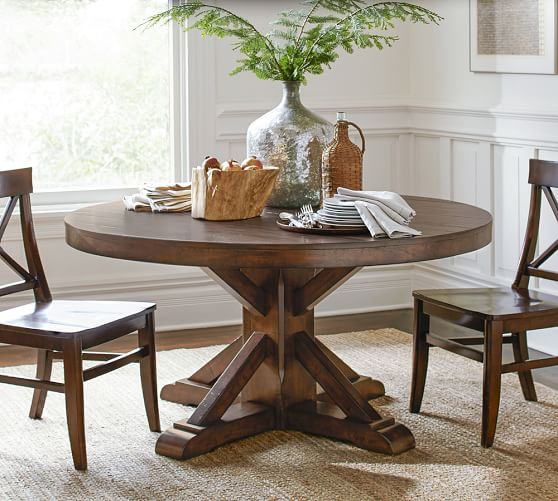 Popular Pedestal Dining Tables You'll Love For Years To Come! Within Linden Round Pedestal Dining Tables (View 10 of 30)
