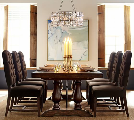 Popular Photo of Gray Wash Lorraine Extending Dining Tables