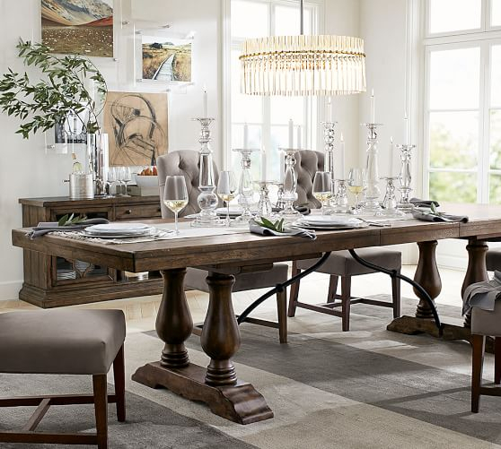 [%Pottery Barn Dining Furniture Sale: 20% Off Dining Tables Throughout Newest Hewn Oak Lorraine Pedestal Extending Dining Tables Hewn Oak Lorraine Pedestal Extending Dining Tables With Latest Pottery Barn Dining Furniture Sale: 20% Off Dining Tables Favorite Hewn Oak Lorraine Pedestal Extending Dining Tables With Regard To Pottery Barn Dining Furniture Sale: 20% Off Dining Tables Well Known Pottery Barn Dining Furniture Sale: 20% Off Dining Tables For Hewn Oak Lorraine Pedestal Extending Dining Tables%] (#19 of 20)
