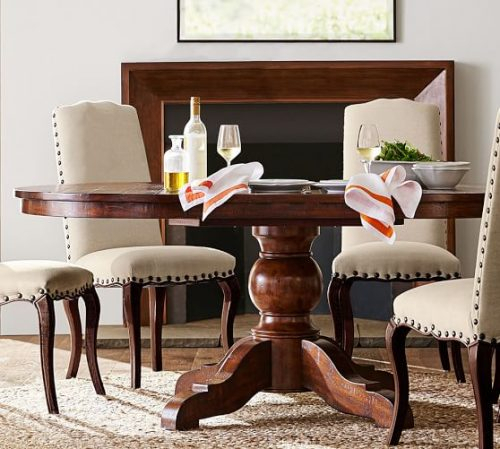 [%pottery Barn Dining Tables And Chairs 20% Sale For Fall 2017 For Newest Rustic Mahogany Extending Dining Tables|rustic Mahogany Extending Dining Tables Inside Most Recently Released Pottery Barn Dining Tables And Chairs 20% Sale For Fall 2017|well Liked Rustic Mahogany Extending Dining Tables Regarding Pottery Barn Dining Tables And Chairs 20% Sale For Fall 2017|most Popular Pottery Barn Dining Tables And Chairs 20% Sale For Fall 2017 Intended For Rustic Mahogany Extending Dining Tables%] (View 14 of 30)