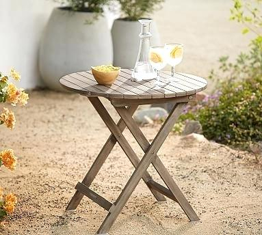 Pottery Barn Rae Bistro Table – Gracehomeremodeling (#17 of 30)