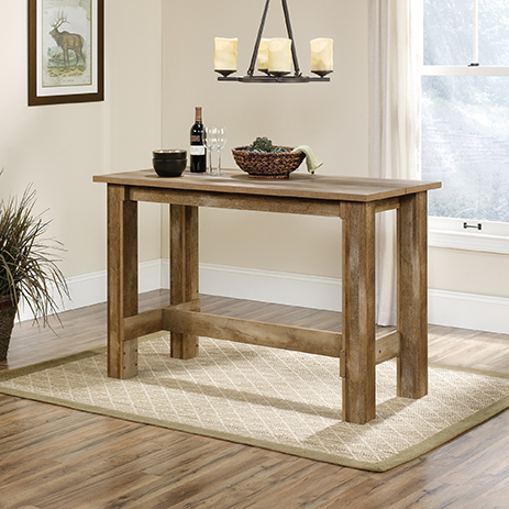 Preferred Carson Counter Height Tables Within Boone Mountain Counter Height Dinette Table ( (View 7 of 20)