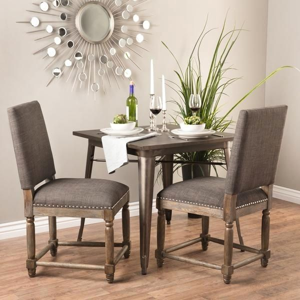 Preferred Gray Wood Dining Chairs – Crazymba (#17 of 20)