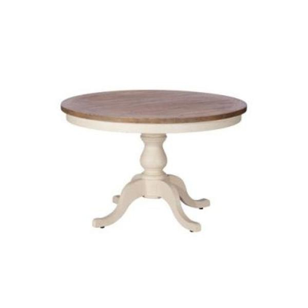 Preferred Normandy Extending Dining Tables With Regard To Normandy Circular Dining Table (View 26 of 30)