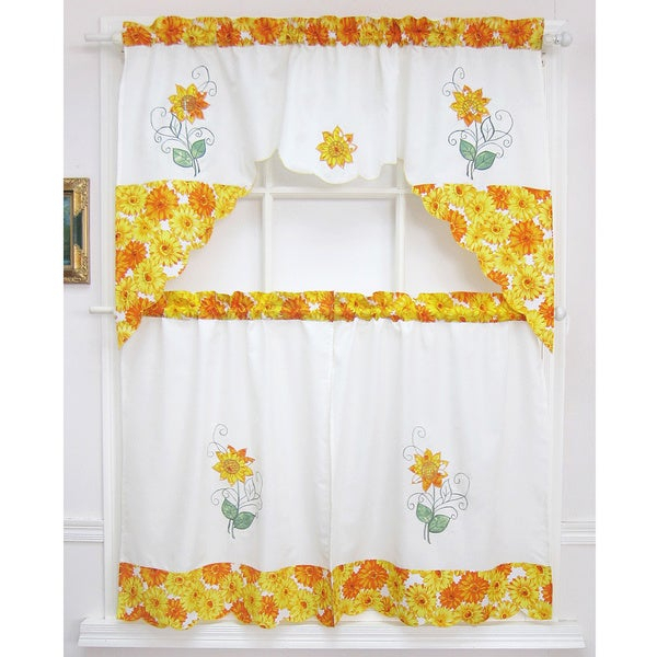 Pricewatch – Lowest Prices, Local And Nationwide Stores With Regard To Spring Daisy Tiered Curtain 3 Piece Sets (View 21 of 30)