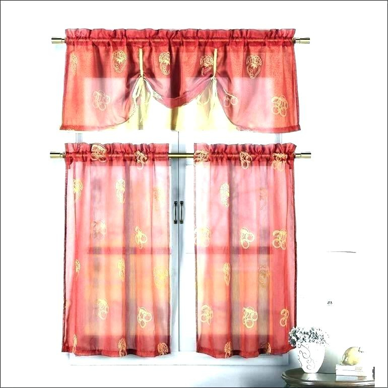 Primitive Country Curtains – Bioengineers For Red Primitive Kitchen Curtains (View 16 of 30)