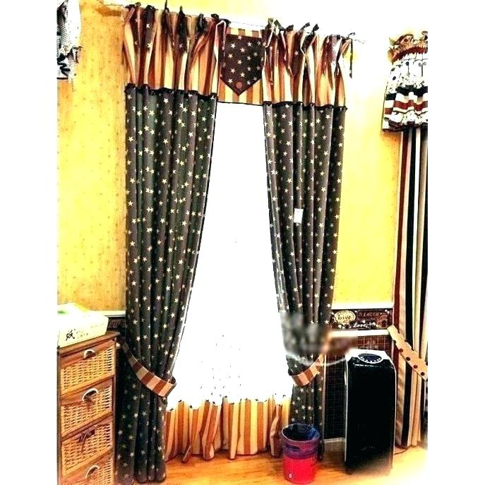 Primitive Kitchen Curtains – Boursefacile Within Rod Pocket Cotton Striped Lace Cotton Burlap Kitchen Curtains (View 14 of 30)