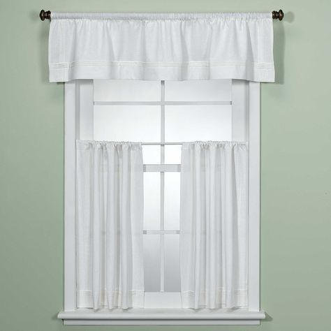 Product Image For Madison Park Gemma Sheer Window Curtain Regarding Ivory Micro Striped Semi Sheer Window Curtain Pieces (View 27 of 50)