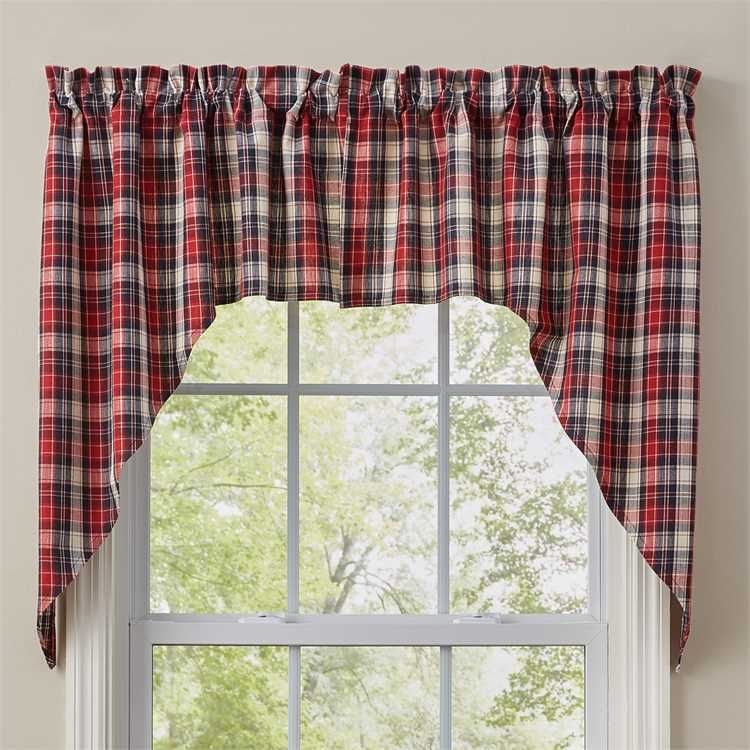 Providence Window Curtain Swag 72 X 36 In 2019 | Curtains Within Cumberland Tier Pair Rod Pocket Cotton Buffalo Check Kitchen Curtains (View 25 of 30)