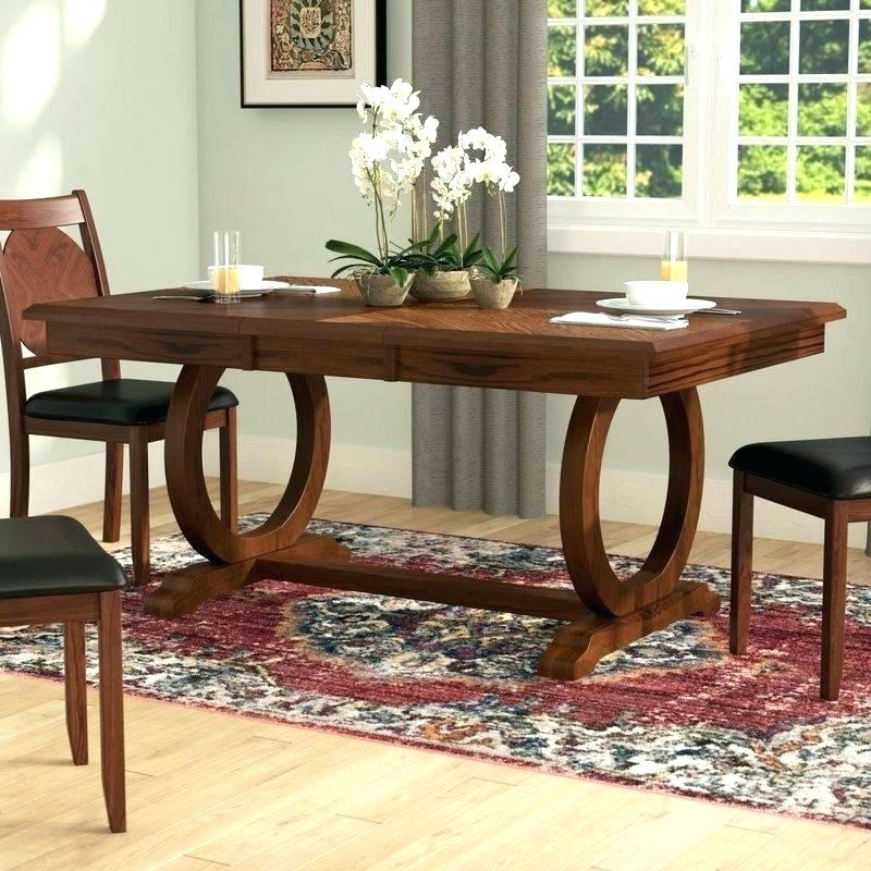 Inspiration about Recent Alfresco Brown Benchwright Pedestal Extending Dining Tables Throughout Toscana Extending Dining Table – Epmservices.co (#14 of 30)