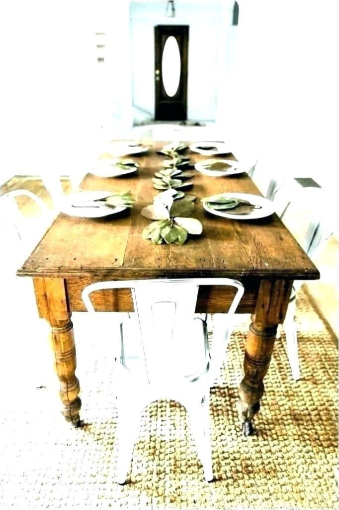 Inspiration about Recent Bartol Reclaimed Dining Tables Within Rustic Pine Dining Table And Chairs – Crazymba.club (#13 of 30)