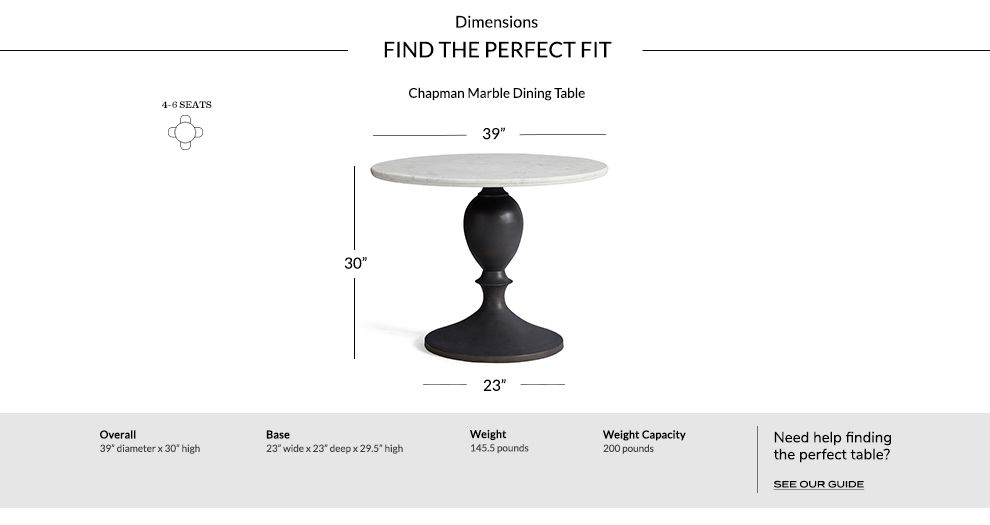 Recent Chapman Marble Dining Table (#22 of 30)