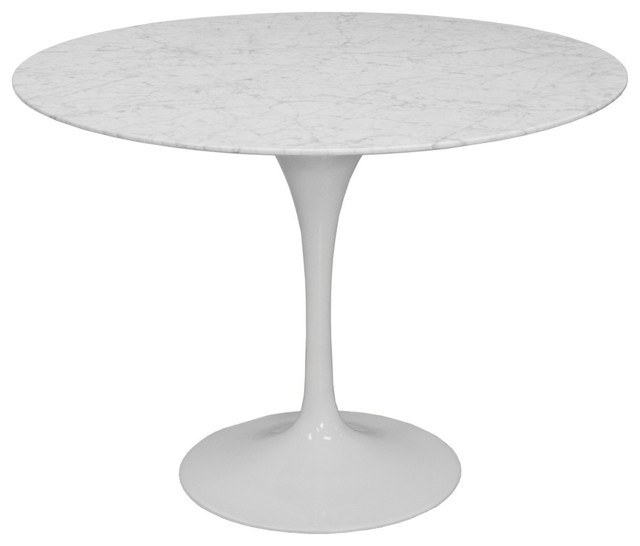 "Recent Christie Round Marble Dining Tables With Regard To Mod Made Round Lily Marble Round Table, 47"" (#20 of 20)"