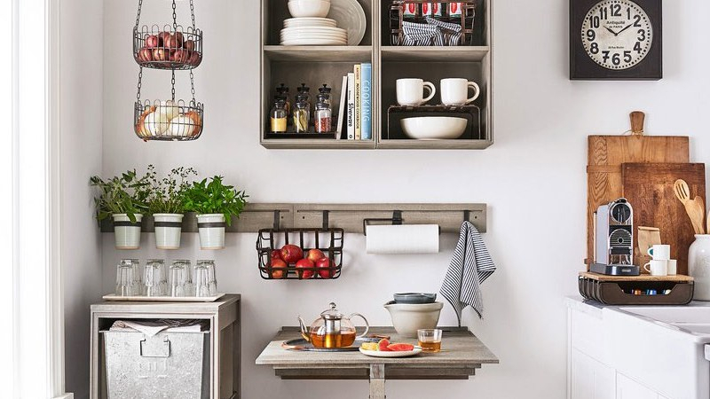 Inspiration about Recent Thalia Dining Tables Within 8 Favorites From Pottery Barn's New Small Spaces Line (#12 of 30)