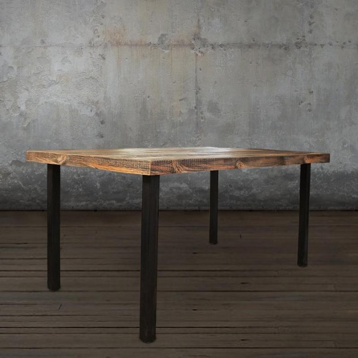 Inspiration about Reclaimed Wood Dining Tables – Saltandblues Within Current Stafford Reclaimed Extending Dining Tables (#20 of 30)