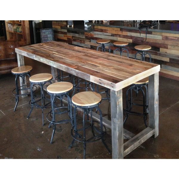 Reclaimed Wood Pub Table Amazing Griffin Bar Height Pottery Pertaining To Most Up To Date Griffin Reclaimed Wood Bar Height Tables (#26 of 30)