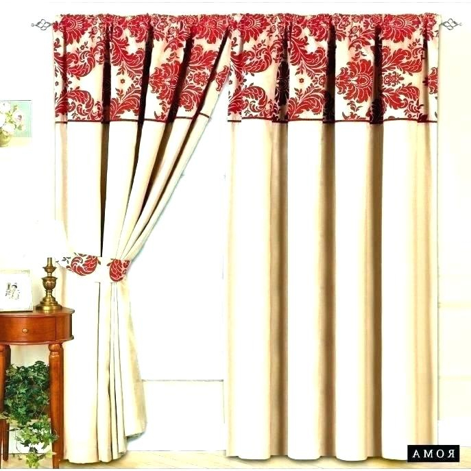 Inspiration about Red Curtains Target – Amcast.co Intended For Modern Subtle Texture Solid Red Kitchen Curtains (#32 of 50)