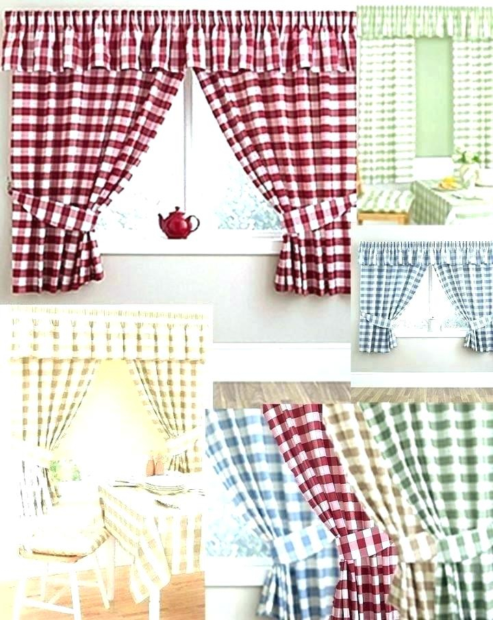 Red Kitchen Curtains And Valances – Paultay (View 36 of 50)